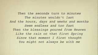 Alan Jackson - When I Saw You Leaving (For Nisey) (Lyrics)