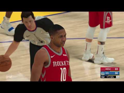 42f09a5bb83 Rockets vs Warriors (1 3 19) - Simulation - NBA 2K19 - YouTube