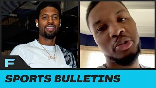 Paul George, Damian Lillard Apologized To Each Other After Their Families Got Involved In Fight