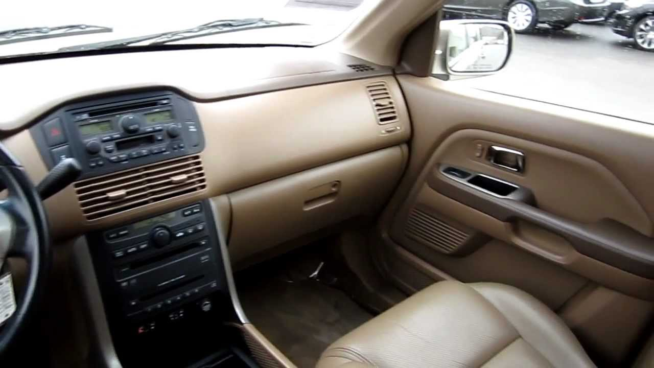 2005 Honda Pilot EX L 4WD, Beige   Stock# B2073   Interior   YouTube