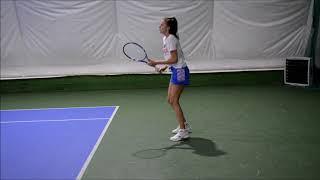 Alina Ivanova College Tennis Recruiting Video Fall 2018 / Spring 2019