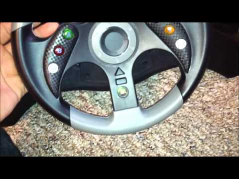 mad catz xbox 360 steering wheel instructions