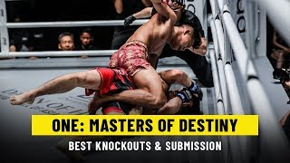 Best Knockouts & Submissions   ONE: MASTERS OF DESTINY