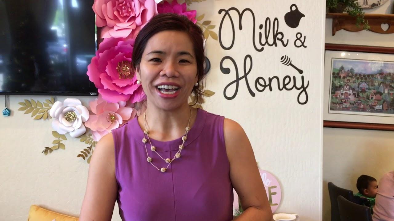 Milk & Honey Cafe owner Teresa Keng during National Small Business ...