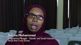 Talking #GenderCash with Salima Mohammed, Gender and Social Inclusion, Kenya Red Cross Society
