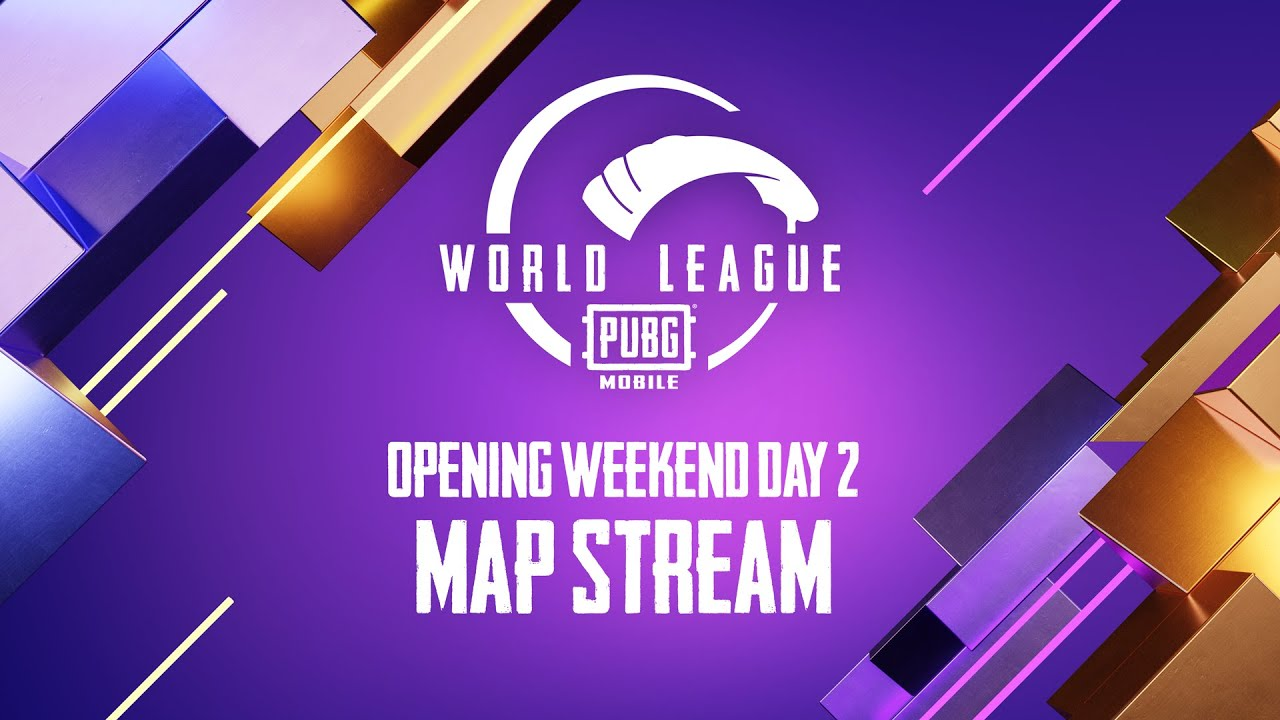 MAP Stream | PMWL WEST - Opening Weekend | Day 2 | PUBG MOBILE World League Season Zero (2020)