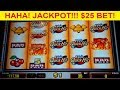 Quick Hit Platinum Slot $25 Max Bet *jackpot Handpay* High Limit Bonus! video