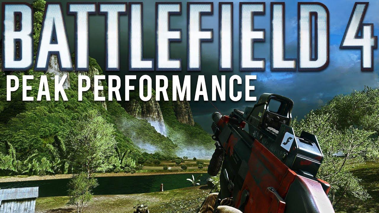 Battlefield 4 Peak Performance + video