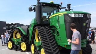 John Deere 100 year tractors John Deere Forum Mannheim Trekkerweb