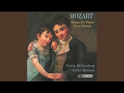 Sonata for Piano 4 Hands in D Major, K. 381: I. Allegro