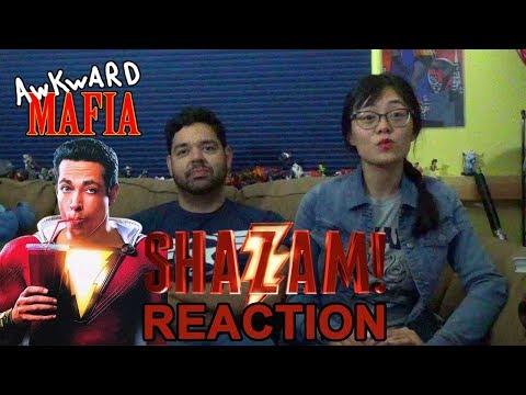 Shazam! 1st Trailer (Reaction) - Awkward Mafia Watches