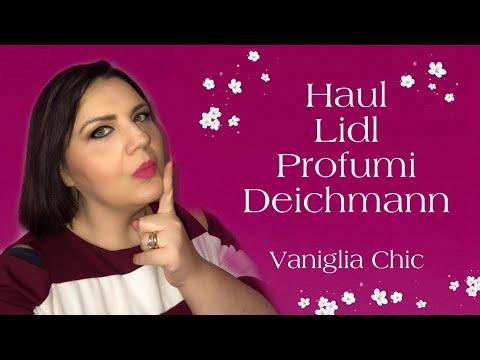 23d368d8eaa HAUL LIDL-PROFUMI-DEICHMANN 💄👠💋 - YouTube