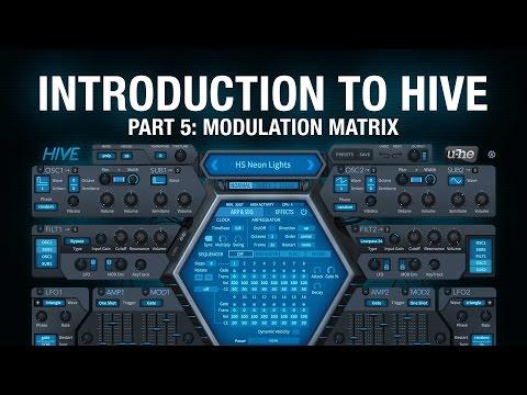Introduction to Hive - 5 Modulation Matrix