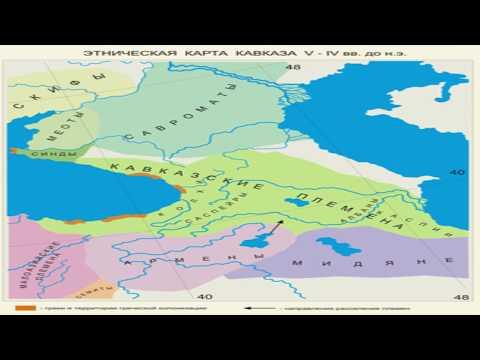 Кавказский  узел   поражение гаргаров, нахов, лезгинов,  сюникских армян  в Албании
