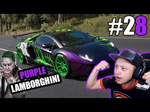 Make Purple Lamborghini Joker - Forza Horizon 3 Indonesia #28 Images