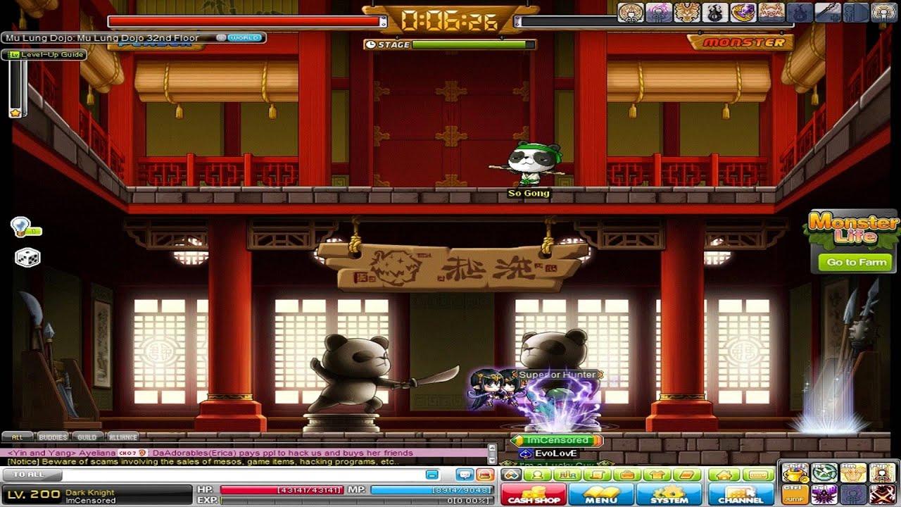gms maplestory imcensored dojo run youtube rh youtube com Dragon Nest MapleStory Gameplay