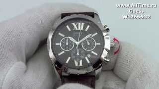 Мужские наручные fashion часы Guess W12655G2(, 2013-08-30T06:50:22.000Z)