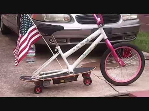 Altered Skate  Build Own Lowrider Electric Bike from Electric Skateboard \/ Hoverboard  YouTube