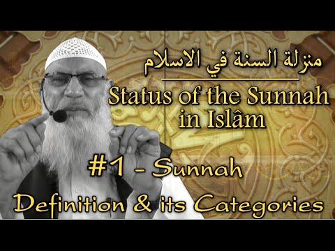 [URDU] Status Of Sunnah In Islaam : Definition & Its Categories - Shaykh Zafarul Hasan Madani