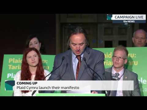 Plaid Cymru launch their election manifesto