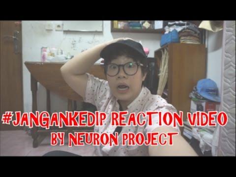 #JanganKedip by Joko Anwar JUMPSCARE REACTION! #TselVideoMAX
