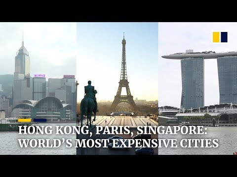 Hong Kong, Paris and Singapore share top spot for world's most expensive city