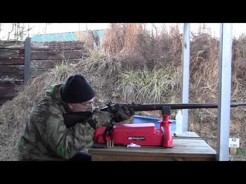 50 70 Duplex Load Testing Black Powder Rifle Cartridge