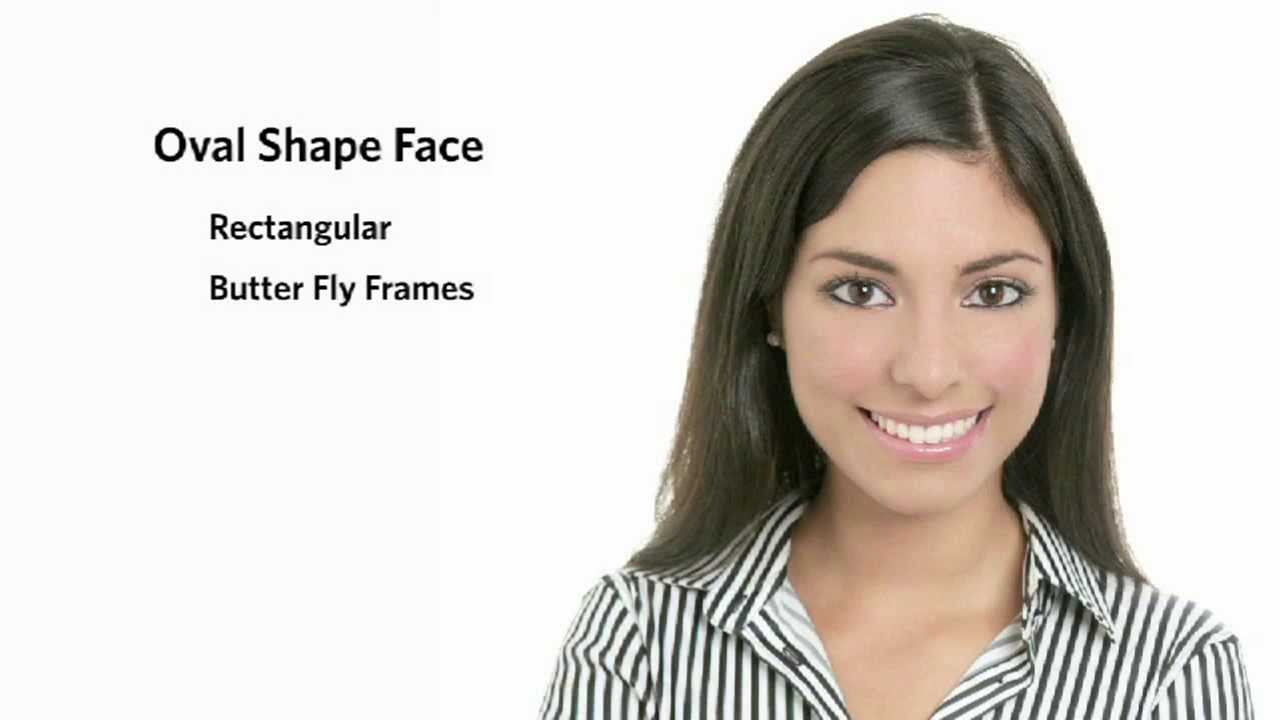 53bff098432 Frames for an Oval Face Shape - Female - YouTube