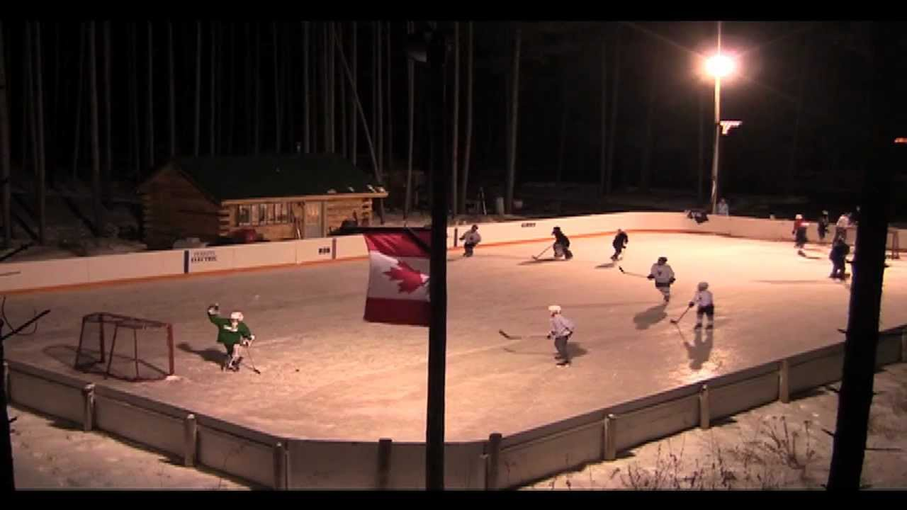 "Backyard Hockey ""The Hammitt Rink"" 2012 - YouTube"