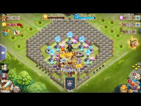 Castle Clash   How To Beat HBM T   TH21   F2P   No Devo; No Molt, DD, Ghoul, Anubis, GS Or Michael
