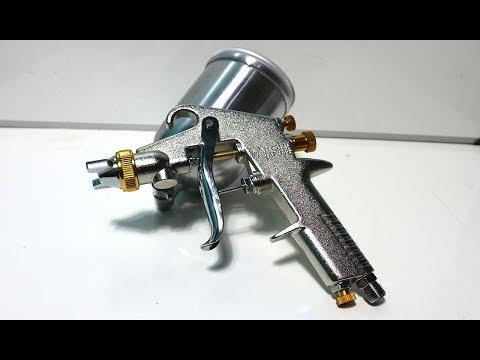 Spet Cat TERMURAH Lakoni Spray Gun F75 G Tabung Atas 400ml - Silver