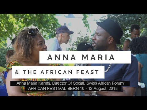 Annamaria Kambi, Director Of Social, Swiss African Forum Speaking With TELL Africans