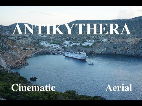 ANTIKYTHERA (St Myronas celebration 2018) Cinematic Aerial