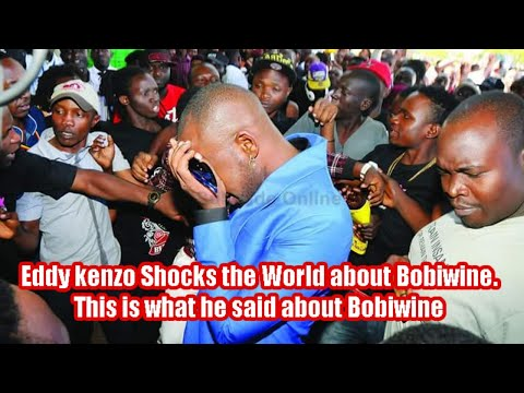 Eddy Kenzo Shocks The World, This Is What He Said About Bobiwine