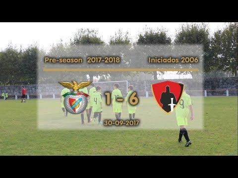 Pré-época  2017/2018 - Sport Lisboa e Nelas 1 - 6 Guarda Unida (Iniciados)
