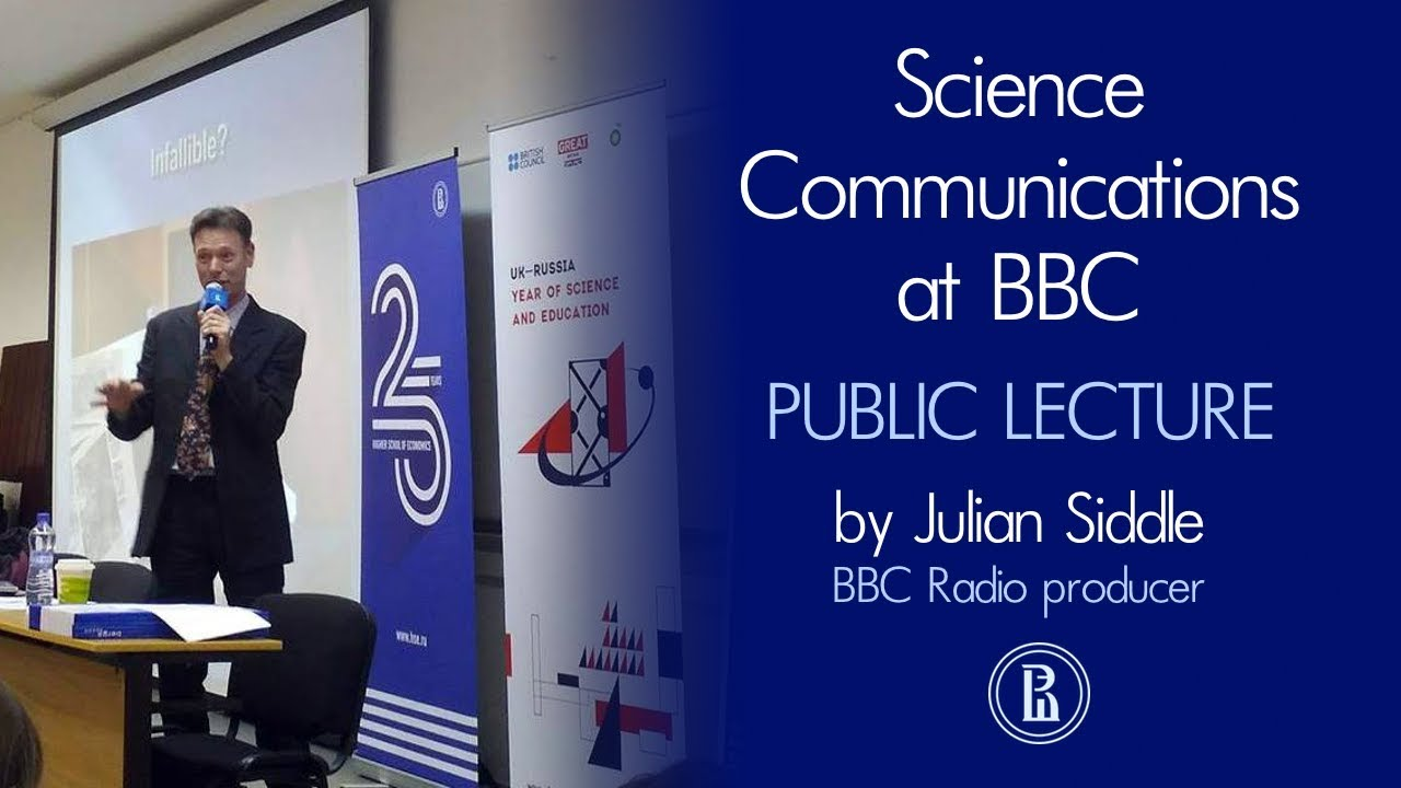 Julian Siddle: Science Сommunications at BBC