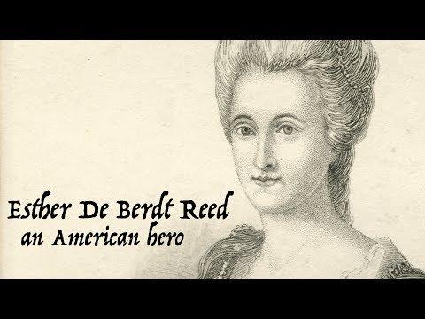 Esther de Berdt Reed was an unsung American hero during the Revolutionary War