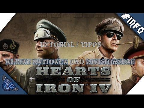 Hearts of Iron 4 Tipps/Tutorial - Kleine Nationen + Divisionsbau [Deutsch|HD|60FPS]