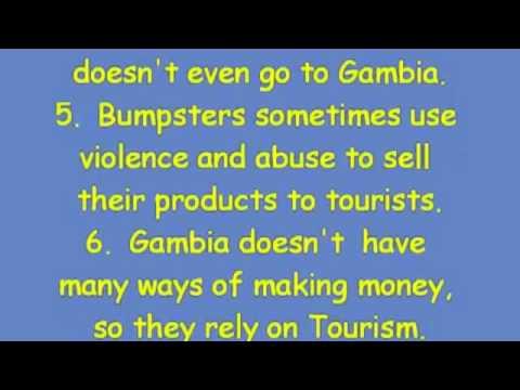 Plans for Tourism Development - Banjul Forum