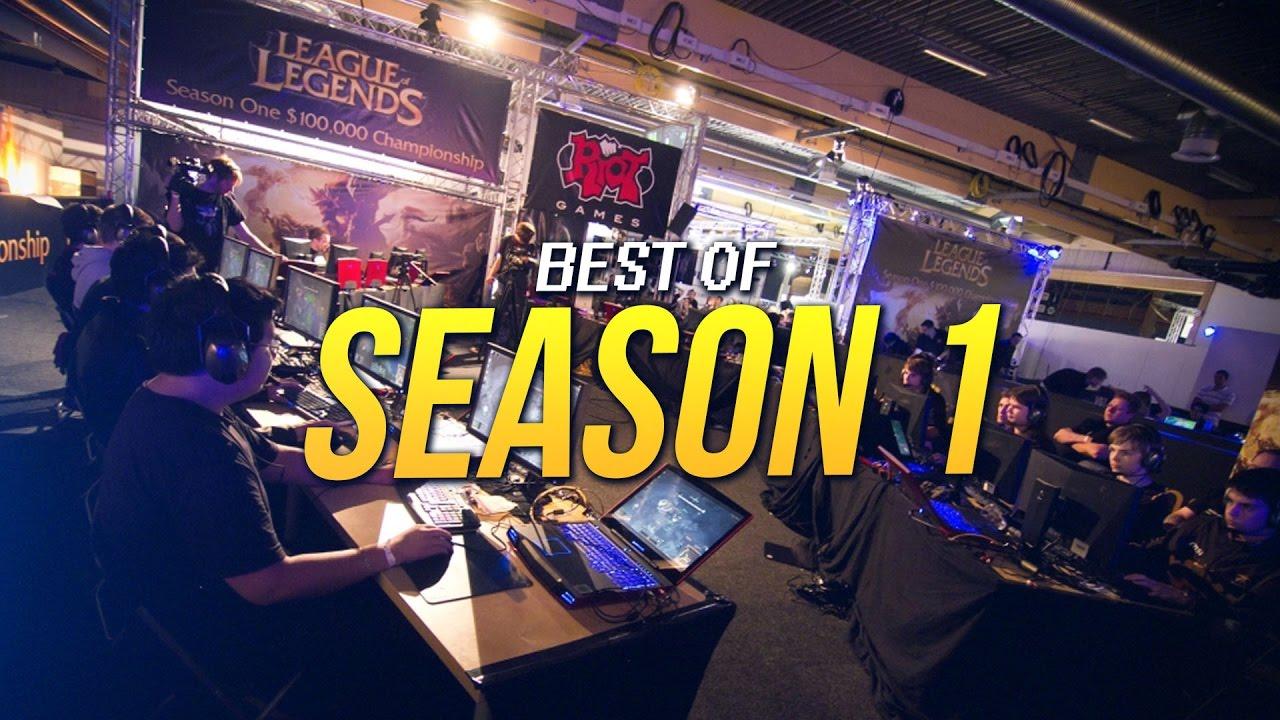 Best Of Season 1 Lol World Championship Youtube