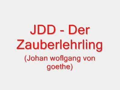 Jdd - Der zauberlehrling (Wolfgang von goethe)