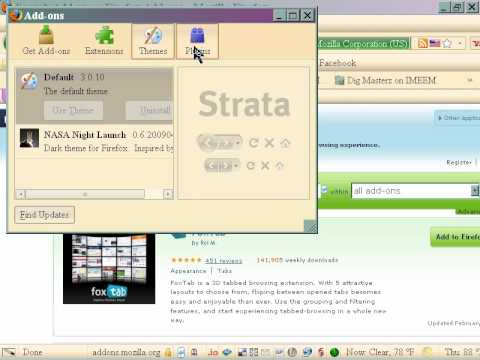 HOW TO iNSTALL COOLIRIS AND FOXTABS 4 FIREFOX Ronski Speed with Stoneface & Terminal