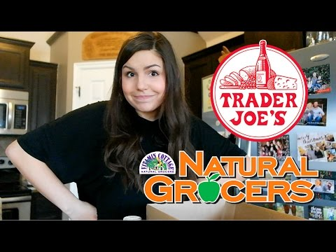 HEALTHY GROCERY HAUL | Trader Joe's & Natural Grocers