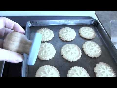 Cookies With Cookie Stamp