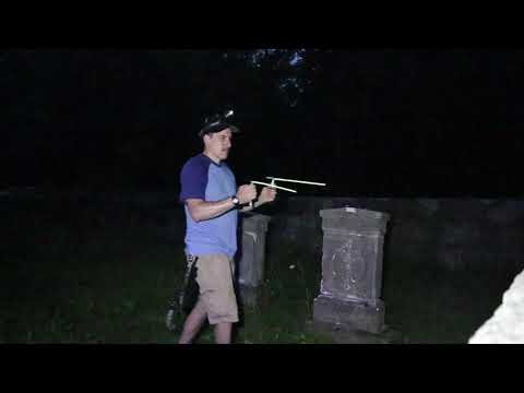 Haunted Snyder Cemetery Ghost Hunt - Raw Video Investigation