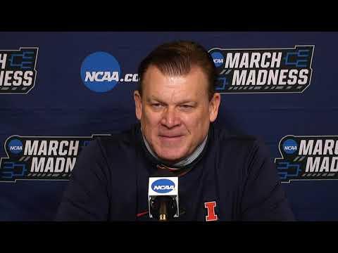 Illinois Second Round postgame press conference - 2021 NCAA tournament