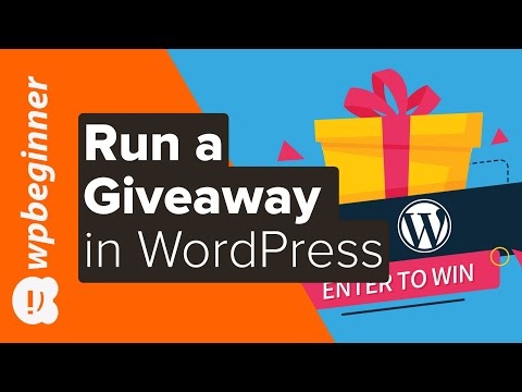 How To Run A Giveaway In 8 Easy Steps (Beginner's Guide)