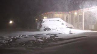 Heavy snow, brutal winds slam Long Island, one teen dies