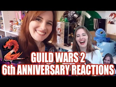 6th Anniversary REACTIONS ● Guild Wars 2 thumbnail