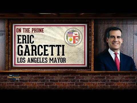 Los Angeles Mayor Eric Garcetti Talks '28 Olympics on The Dan Patrick Show | Full Interview | 8/4/17